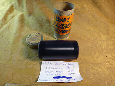 Edison 4M Phonograph Record Cylinder 5000 Series - 5395 The Mississippi Flood