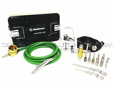 Medtronic Midas Rex MR7 Set with PM710 Touch Motor *With Warranty*