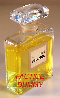 Flacon CHANEL ALLURE env. 100 ml / 11,5 cm FACTICE / DUMMY