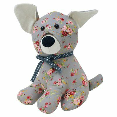Riva Paoletti Floral Dog Doorstop - Heavyweight Sand Filling 00% Polyester -  x