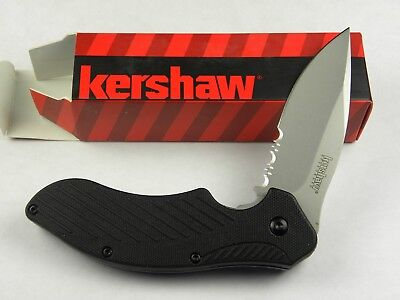 Kershaw Clash Assisted Opening Serrated Folding Pocket Knife 1605 ST
