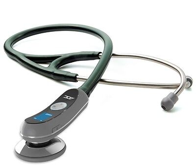 NEW ADC Adscope Model 658 Electronic Digital Amplified Stethoscope DARK GREEN