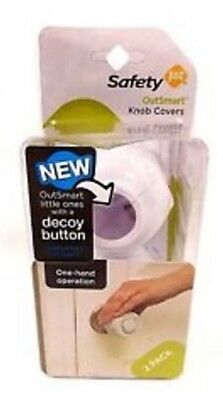 Safety 1st, OutSmart Knob Covers, 2 Pack, White