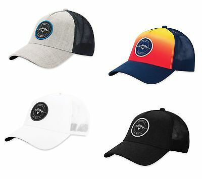 62d305aec124a Callaway Trucker Hat Mens Adjustable Golf Cap - New 2019- Choose Color!