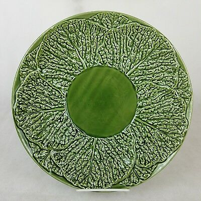 """Cabbage Leaf Platter Plate Jay Willfred Andrea Sadeh 12.5"""" Portugal Charcuterie"""