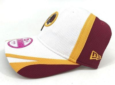 best loved 2f5bd 903c7 ... authentic new womens new era 9forty nfl washington redskins white adjustable  cap e499d e30a7