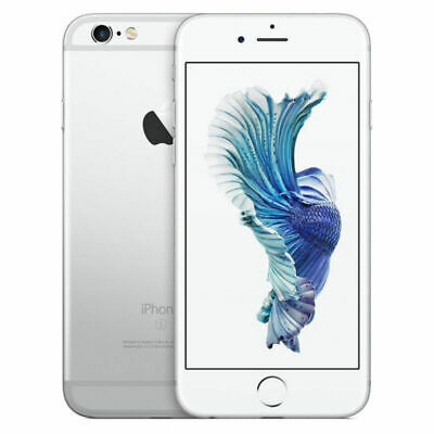 Apple iPhone 6S 16GB Silver Factory GSM Unlocked AT&T / T-Mobile Smartphone