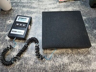 Tif 9010A Slimline Electronic Charging Scale Works Great Ruff Condition!