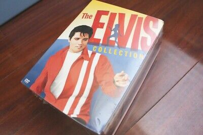 The Elvis Collection 6 Best Of The King 6 DVD Set - New Sealed Warner Bros.