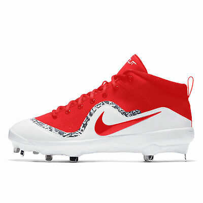 de13118e224 Nike Force Air Mike Trout 4 Pro Mid Metal Mens Baseball Cleats - NEW WITH  BOX