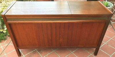 Superb Mid Century Teak Kriesler Multi Sonic Stereo Radiogram/record Player