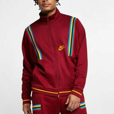 3c6174073 NIKE NSW (TEAM Red/Univ Red) French Terry Heritage Re-Issue Jacket ...