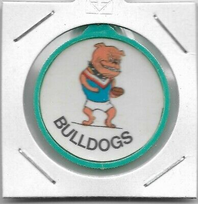 1970's Twisties South Australia Football Badge - Central District Bulldogs