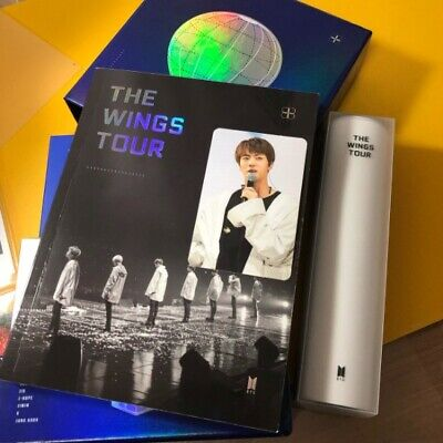 BTS 2017 The Wings Tour In Seoul DVD Live Trilogy Episode III Set Jin Photo Card