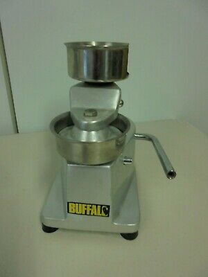 Catering Burger press by Buffalo-stainless steel- excellent condition-