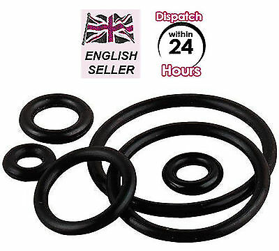 4 Pack Of Metric Rubber O Ring Seals 3mm To 100mm I D All Sizes