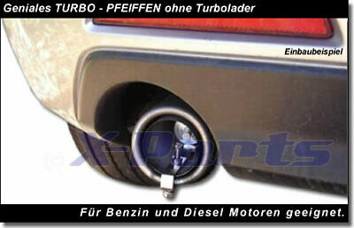Auto Blow Off Pop Off Turbo Sound Whistler Sportauspuff