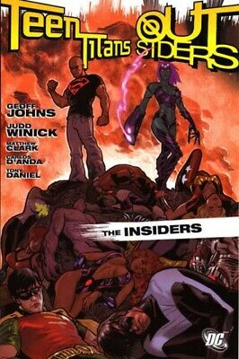 Teen Titans Outsiders Insiders TPB (2006) First Printing (9.0-VFNM)