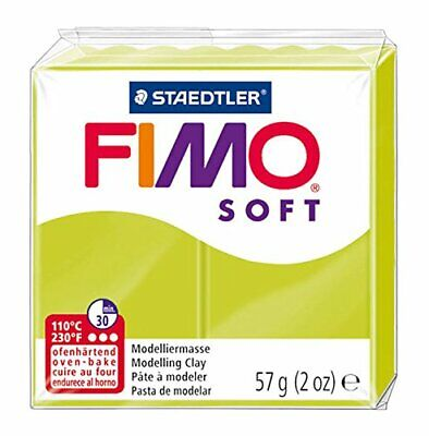 STAEDTLER Fimo Soft Polymer Clay 2Oz-Lime Green