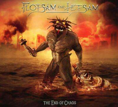 New 2019 FLOTSAM AND JETSAM END OF CHAOS WITH BONUS TRACK JAPAN CD F/S
