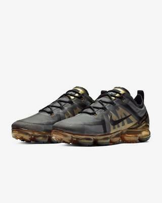 Nike Vapormax 2019 Men's size 14 black gold