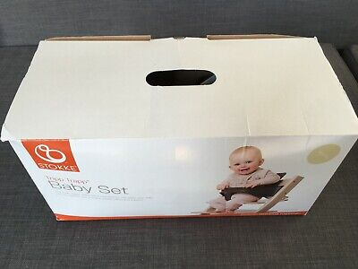 Stokke Tripp Trapp baby set natural – in original box spotless – used for 4 mins