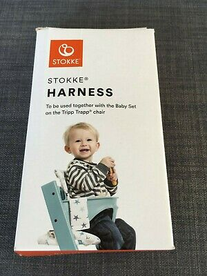 Stokke Tripp Trapp harness – beige – in original box – spotless used for 4 mins!