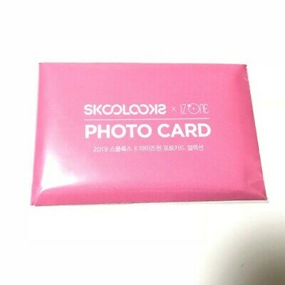IZONE x SKOOLOOKS Promotion Official Photo card Full Set KPOP