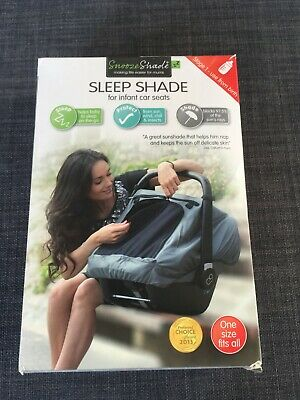 SnoozeShade sleep shade for infant car seat – deluxe version – brand new in box