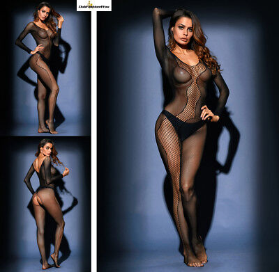 Hot Reizwäsche Fishnet Body Stocking Catsuit Netz Body Unterwäsche |H| 79981-2