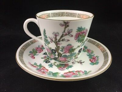 Vintage Hammersley & Co Bone China INDIAN TREE Pattern 536 Cup & Saucer Set