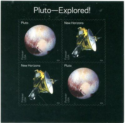 US Scott #5077-5078 Pluto - Explored! Sheet MNH. Free Shipping.