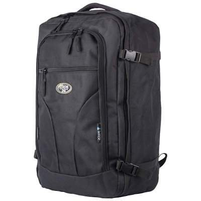 Hideo Wakamatsu Hybrid Carry On Backpack Black Suitcase Bag 99 99 Picclick