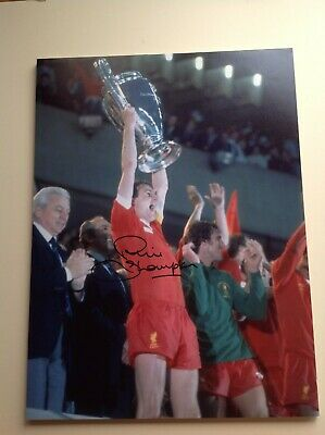 "Liverpool - Phil Thompson - Hand Signed ** 16"" X 12"" picture With COA"