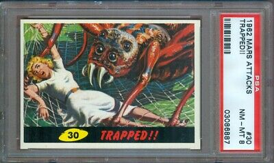 1962 Mars Attacks #30 Trapped!! Psa 8