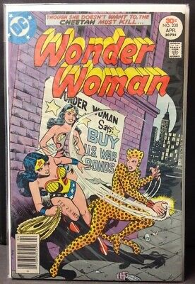 Wonder Woman #230 - Cheetah Cover !! New Movie Vf/nm-