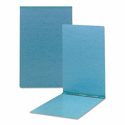 Smead Top Opening Pressboard Report Cover Prong Fastener 11 x 17 Blue 81078