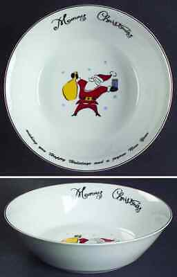Merry Brite (china) MERRY CHRISTMAS Santa Soup Cereal Bowl 5585813