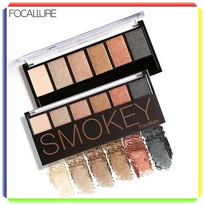 Focallure Palette Makeup Eyeshadow 6 Colori Fa06
