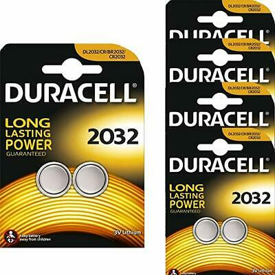 Genuine 10X Duracell Cr2032 3V Lithium Coin Cell Battery Dl2032, Br2032, Sb-T15