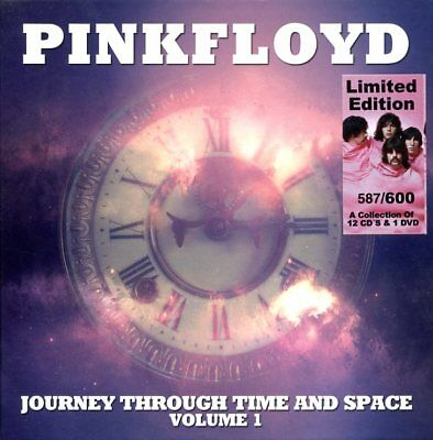 PINK FLOYD JOURNEY THROUGH TIME + SPACE, 12 CD's + 1 DVD BOX SET - VERY RARE