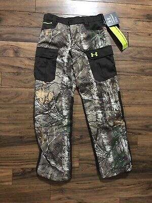 a96b61d0b8aba NWT UA Storm 2 Youth LG Insulted Hunting Pants W/ Scent Control and Repels  Water