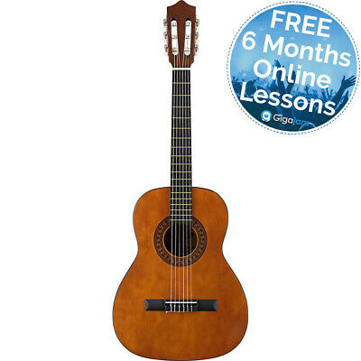 Stagg C430 3//4 Size Classical Guitar w// Bag /& Tuner Natural NEW