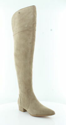 c407b1a0710  248 SIZE 8.5 Splendid Ruby Tan Beige Suede Over The Knee Riding ...