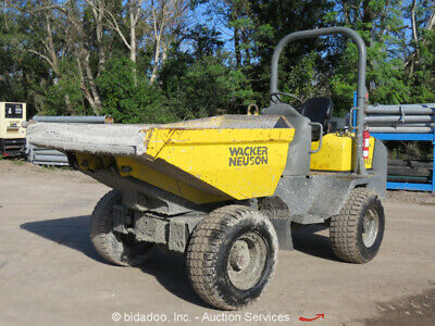 2015 WACKER NEUSON 3001 Compact Dumper Ride on Georgia Buggy Concrete  bidadoo