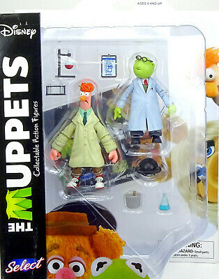 Marvel Diamond Select Toys The Muppets Bunsen & Beaker Collectable Actionfigure