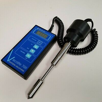 HydraMotion Viscolite 700 Portable Ultrasonic Viscometer 0-10,000 cP, VL700 S21