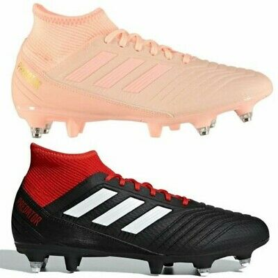 best sneakers 048d0 84202 adidas predator 18.3 SG Soft Ground Football Boots Mens Soccer Shoes Cleats