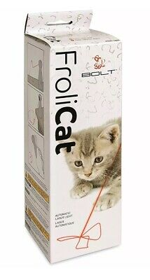 FroliCat Bolt Interactive Laser Cat Toy Automatic Stimulating NEW