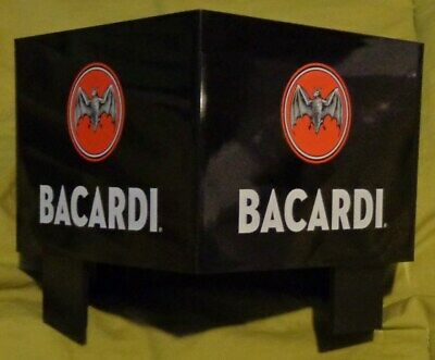 Bacardi Rum Bar Caddy - Napkin, Straw, Swizzel Holder....NEW...Style 4